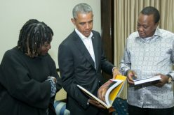 Obama in Ancestral Home Kenya to Launch Sister's Project