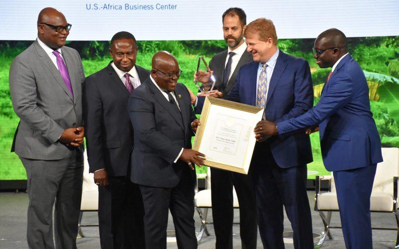 PresidentsAkufo-Addo received the 2018 Outstanding Leaders' Award