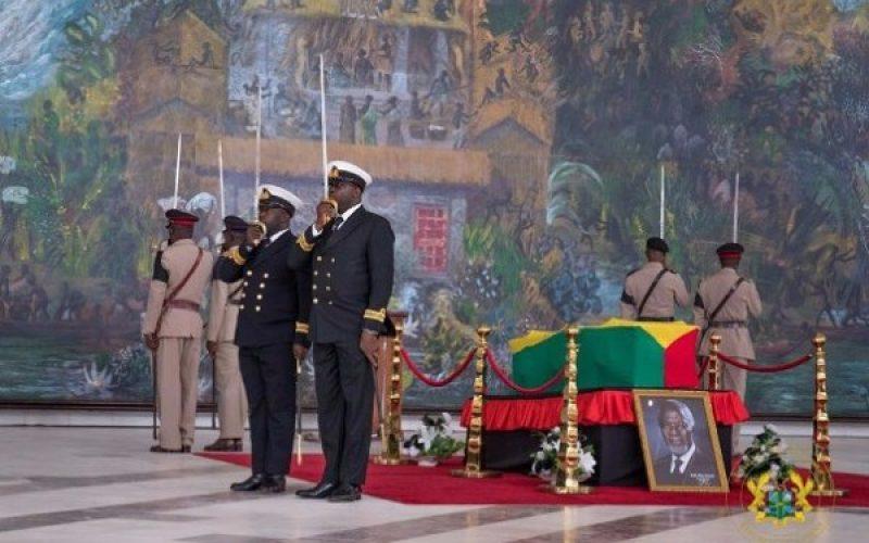 Ghanaians says farewell to Kofi Annan