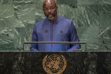 Liberia is a UN peacekeeping success and country is grateful for support, President Weah tells world leaders