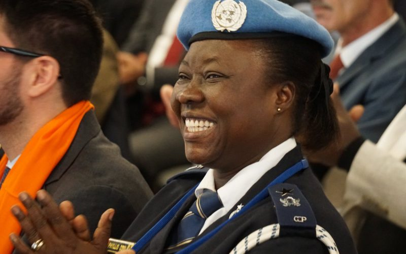 UN Police Officer Phyllis Osei from UNSOM wins Female Peacekeeping Award NOV 20