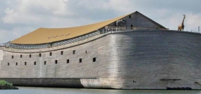 Incredible life-sized replica of Noah's Ark will sail to Israel, says Dutch carpenter who built it