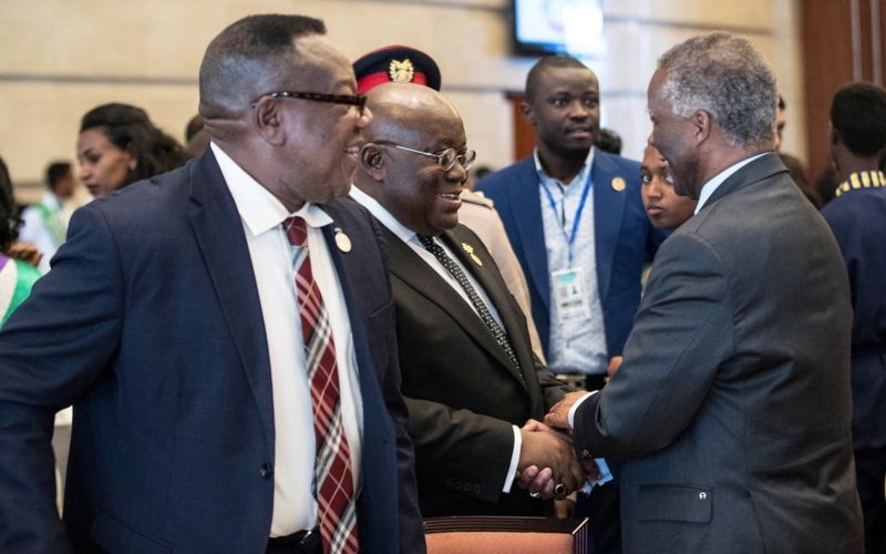"""""""Scale-Up Implementation Of SDGs"""" – President Akufo-Addo To AU Leaders"""