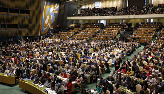 Students from TYWLS and the CSLSJ Attend United Nations' 63rd Annual Commission on the Status of Women