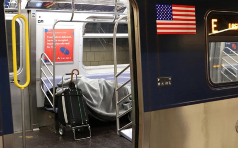 MTA honcho 'losing patience' with NYC on subway homeless