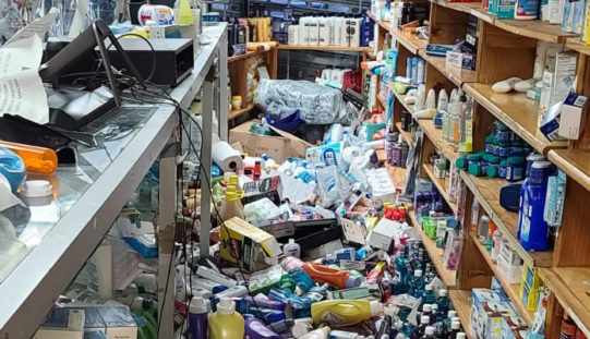 'Fordham is on fire' Looters destroy two Ghanaian owned Pharmacies, NYPD officers attacked amid violence in Bronx