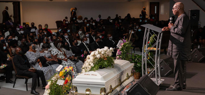 Ghana's Ambassador to the United States attends funeral of Barbara Tommey