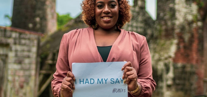 One million people share hopes and fears for future with the UN