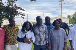 Newly appointed Consul General to New York visits Ghanaians in Connecticut; promises 'service on wheels'